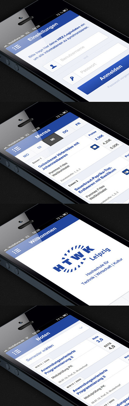 Flat Mobile UI Design with Remarkable User Experience | Design | Graphic Design Junction | Digital User Experience | Scoop.it