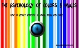 Psychology of Colors and Images in Social Media | education | Scoop.it