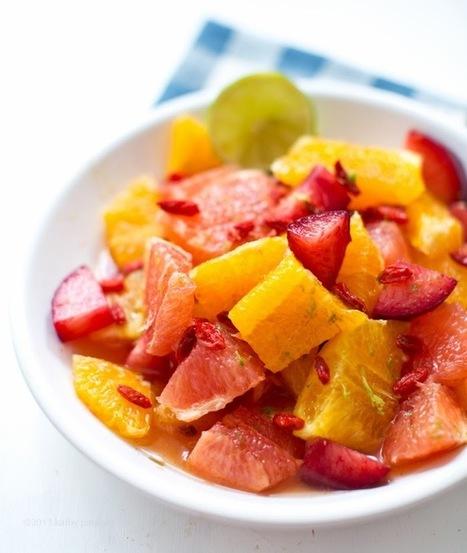 Maple-Lime Citrus Salad + 365 Vegan Smoothies Sneak Peek! | Fit and Fierce | Scoop.it