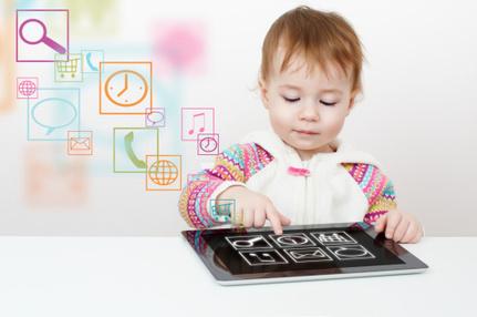 Les enfants de plus en plus accros aux tablettes et smartphones   enfant et tablette   Scoop.it