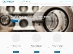 Customizr – Free Twitter Bootstrap WordPress Theme | Bootstrap | Scoop.it