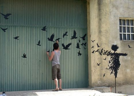 Street Art by Pejac – A Collection | digital marketing | Scoop.it