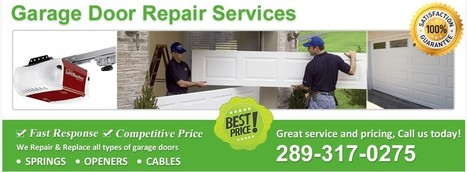 Find Best Garage Door Installation and Repair Services in Richmond Hill | Richmond Hill Garage Door Services | Scoop.it