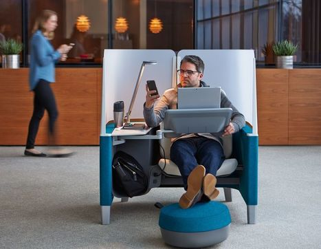 Distracted and Stressed by Your Open-Plan Office? This New Workspace Pod Can Help You Focus.   Office Environments Of The Future   Scoop.it