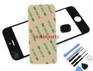 Black iPhone 5 Outer Screen Glass Lens /Digitizer Cover+Home Button+Tape+Tools | many phones | Scoop.it