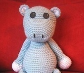 1500 Free Amigurumi Patterns: Free Crochet Pattern: Hippo | Geeky Creations | Scoop.it