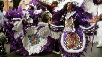 A history of Mardi Gras Indians in New Orleans - The Grio | The 1920's In Its Splendor | Scoop.it