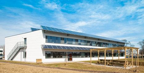 Retour d'expérience : immeuble de bureau à énergie positive | Aménagement des espaces de vie | Scoop.it