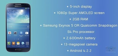 Samsung Galaxy S4 release date, price and preorder availability in US | Samsung Galaxy S IV | Scoop.it