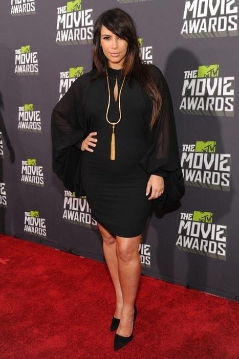 Kim Kardashian's Pregnancy Fashion — Reality Star's Best Baby ...   Dress design   Scoop.it