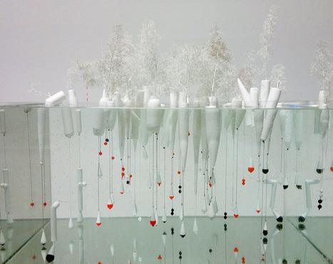 Une forêt flottante à été installée dans la ville portuaire de Rotterdam | Frans en mixed media | Scoop.it