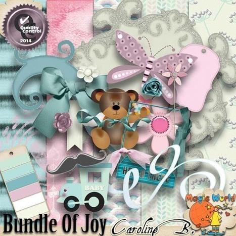 Bundle of Joy Extras - $2.99 : Caroline B., My Magic World of Digital Design | SCRAPBOOKING | Scoop.it