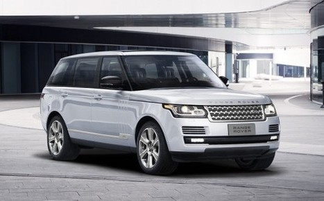Land Rover unveils Range Rover Hybrid Long Wheelbase in Beijing - CPP-LUXURY | Luxury News | Scoop.it