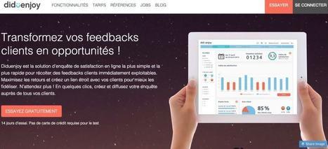 Diduenjoy. La veille sur la satisfaction client – Les outils de la veille | Webmarketing - SEO | Scoop.it