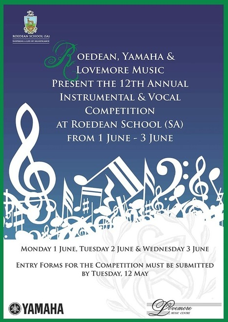 Instrumental and Vocal Competition at Roedean School | ISASA | Independent Schools Association of Southern Africa | Roedean | Scoop.it