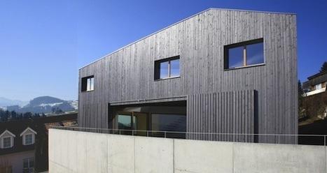 Martin Widmer :  Maison à Herisau | Rendons visibles l'architecture et les architectes | Scoop.it