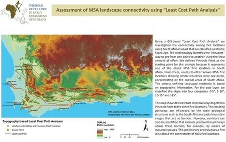 Overview of Least Cost Path Analysis   #Geoprocessamento em Foco   Scoop.it