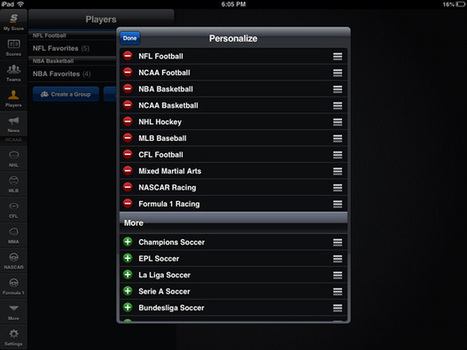 Know the Score With theScore Mobile | iPad.AppStorm | Winning The Internet | Scoop.it
