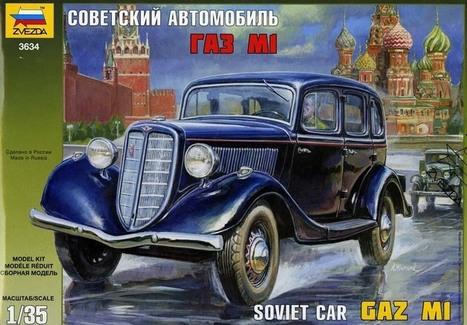 GAZ-M1 Car | Francois' Scale Modeling Gazette | Scoop.it