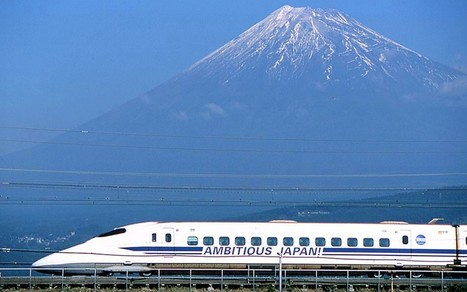 310mph 'floating' trains unveiled in Japan  - Telegraph | S'emplir du monde... | Scoop.it