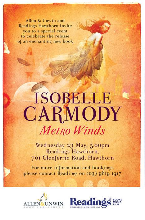 Isobelle Carmody | CGS Popular Authors | Scoop.it