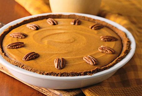 Creamy Pumpkin Pie with a Gingersnap Crust! | Dashing Dish | Dessert Buffet | Scoop.it