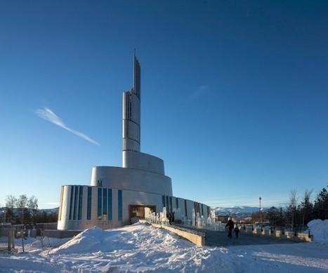 Cathedral of the Northern Lights by Schmidt Hammer Lassen » CONTEMPORIST | Hurtigruten Arctique Antarctique | Scoop.it
