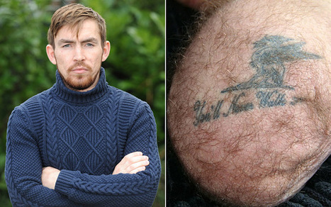 Royal Marine's Liverpool FC tattoo reads 'You'll Never Walk' after amputation | Quite Interesting News | Scoop.it