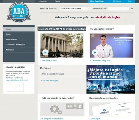 Los mejores cursos online de inglés (VI) – ABAEnglish | Educación a Distancia y TIC | Scoop.it