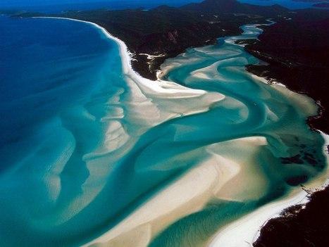 Un destino único, la playa de Whitehaven, en Australia)   Ecoturismo   Scoop.it