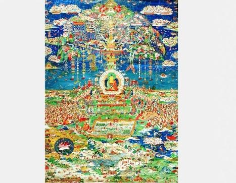 Exposition de tangkas du maître Langkajie à Beijing | French China | Kiosque du monde : Asie | Scoop.it