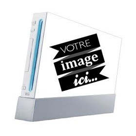 Skin Wii sur-mesure - Skins & Covers High-Tech - Produits Perso | stickers autocollants décoratifs | Scoop.it