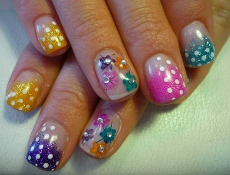Spring 2013 Nail Art Trends To Try | Women Fashion Accessories | Scoop.it