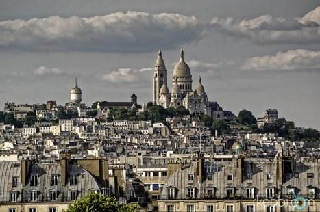 Photo Poésie Sacrée Coeur Le ciel par-dessus le toit de Verlaine | photopoesie | Scoop.it