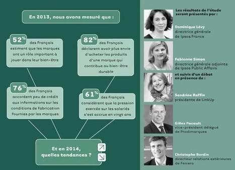 Bien-être durable® Ipsos/Link Up : quelles évolutions en 2014 ? - Ipsos France   Massage Formation   Scoop.it