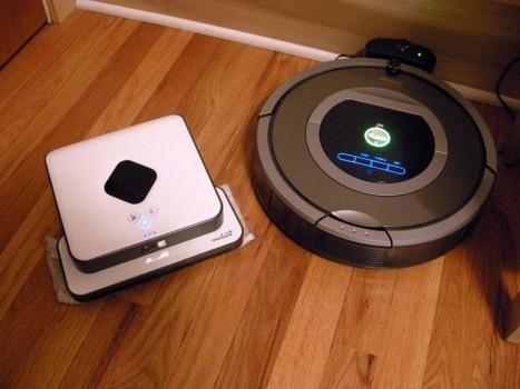 Aspirateur robot Mint vs Roomba 780 | Les robots domestiques | Scoop.it