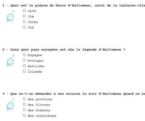 Quiz : Halloween   POURQUOI PAS... EN FRANÇAIS ?   Scoop.it