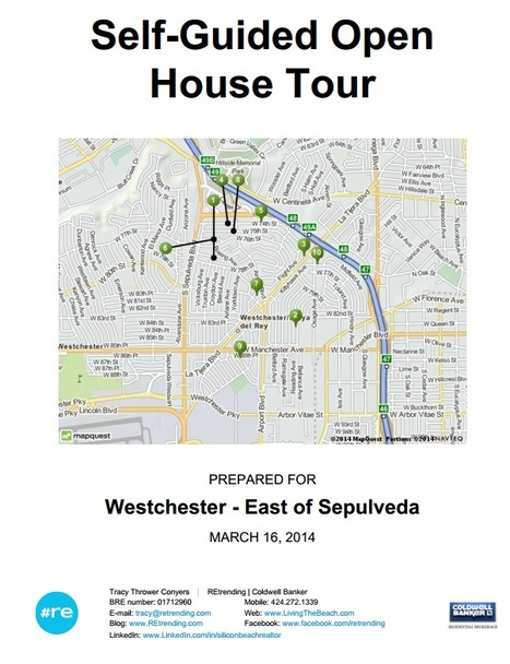 Westchester CA Real Estate Open House Self-Guided Tour for 3/16/2014 - East of Sepulveda Edition | 90045 Trending | Scoop.it