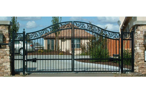 Quality security and iron products at www.ironoutlet.com | Custom Courtyard Gates Design with variant styles around Sacramento | Scoop.it