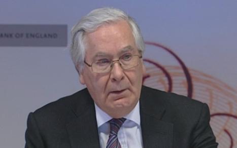 Sir Mervyn King urges domestic focus for monetary policy - Telegraph   Economics Unit 3   Scoop.it