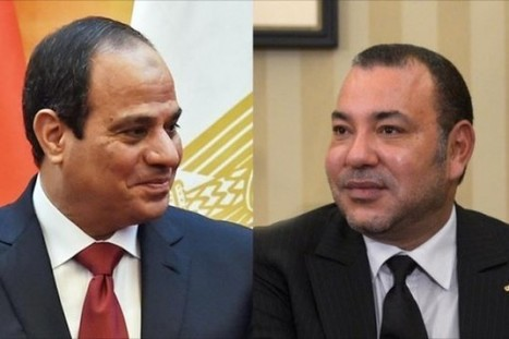 Egypt's E-Sissi Prepares to Host Talks with King Mohammed VI | Barkinet | Scoop.it