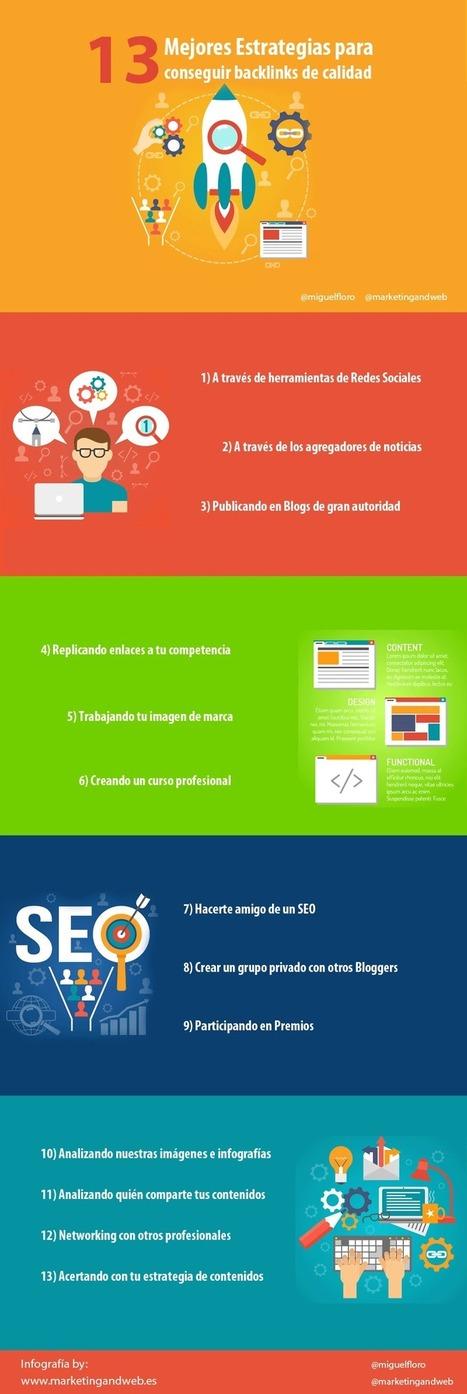 Cómo conseguir backlinks o enlaces externos de calidad | Noticias de Marketing Online - Marketing and Web | Scoop.it