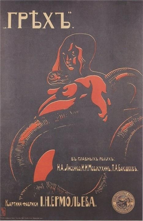 Creepy and erotic Russian film posters of the Imperial era | Vloasis sex corner | Scoop.it