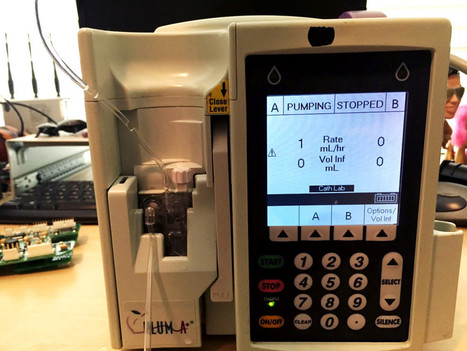 Hacker Can Send Fatal Dose to Hospital Drug Pumps | WIRED | Informática Forense | Scoop.it