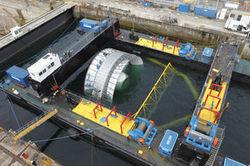 Le gouvernement souhaite la construction rapide de fermes hydroliennes pilotes | EMR | Scoop.it