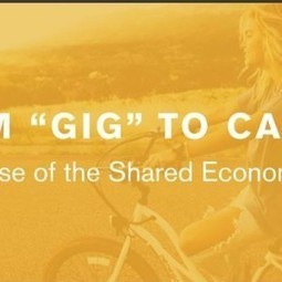 From Gig to Career: The Rise of the Sharing Economy [Infographic] | Executive Coaching Growth | Scoop.it