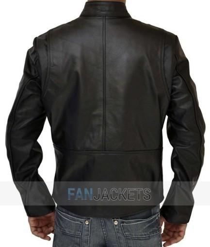 Black Iron Man Jacket | Motorcycle Leather Tony Stark Jacket | Current Fashion Updates - 2015 | Scoop.it