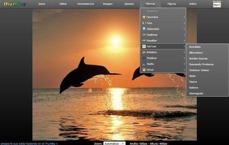 Thumba, excelente editor de imágenes online y gratis | Aplicaciones y Herramientas . Software de Diseño | Scoop.it