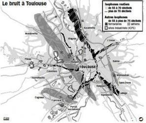 Routes, trains, avions… des bruits dans la tête | Toulouse La Ville Rose | Scoop.it