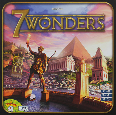 The NSKN Blog: The strategy review - 7 Wonders | The NSKN Boardgames Magazine | Scoop.it